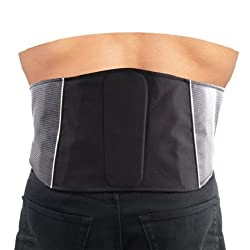 Roleff Racewear Nierengurt, Schwarz, Größe L