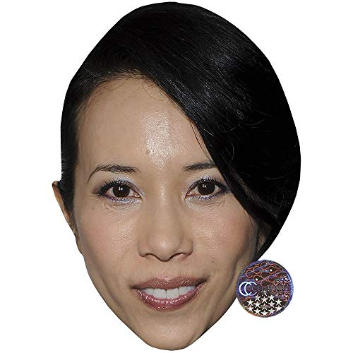 Celebrity Cutouts Karen Mok (Smile) Big Head.