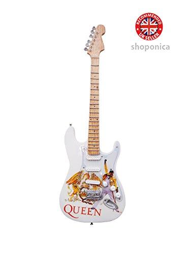 Queen–Un tributo de madera miniatura Guitarra Replica