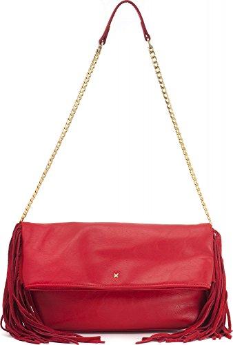 Fiorelli - Tyra, Sacchetto Donna Rosso (Red (Red Tassles))