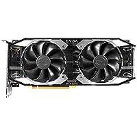 Evga GeForce RTX 2070 XC Ultra Gaming - Tarjeta Grafica (8 GB, GDDR6, Doble Fan HBD y Leds RGB) Color Negro