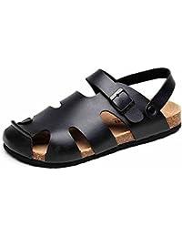 c2daa5ee2 LIXIONG Portátil Zapatillas De Verano De Hombre   Sandalias Planas   Zapatos  De Playa   Zapatillas
