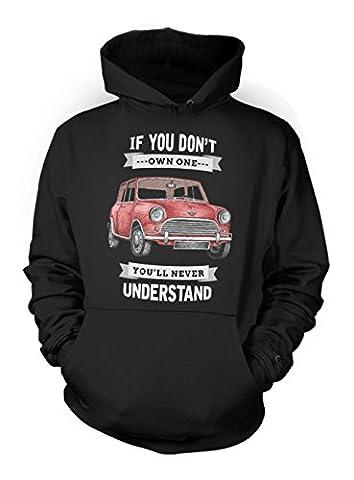 If You Don't Own One You'll Never Understand Classic Vintage Car Herren Hoodie Sweatshirt Schwarz Medium