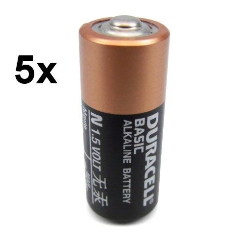 Duracell - Basic N / LR1 / Lady / E90 / 4001 / MN9100 / AM-5 / 910A - Spéciales Alarmes / Télécommandes - 5 Piles