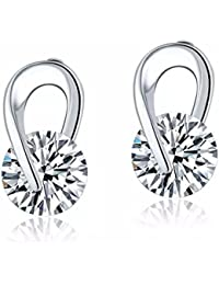 Shining Diva Fashion Jewellery High Quality AAA Crystal Stylish Party Wear Earrings For Women And Girls