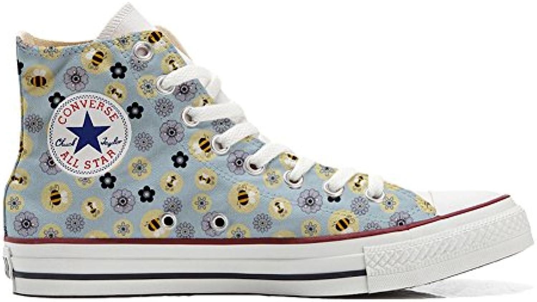 mys Converse All Star Hi Customized Personalisiert Schuhe Unisex (Gedruckte Schuhe) Api  Fiori