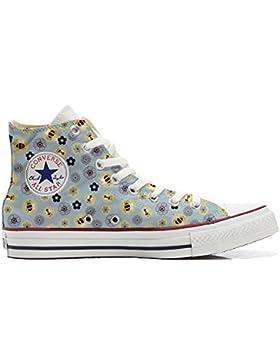 Converse All Star zapatos personalizadas Unisex (Producto Artesano) Api & Fiori