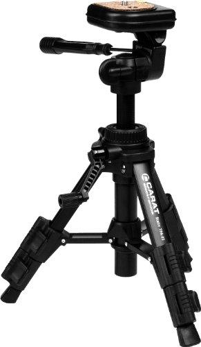 Carat Electronics TPA-03 ultrakompakt und robust Stativ für Kameras und Camcorder