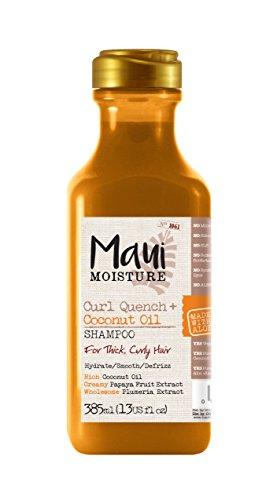 Maui Moisture Curl Quench Shampoo mit Kokosnuss-Öl, für dickes, lockiges Haar, 385 ml