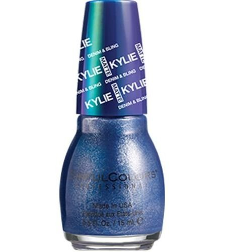 SinfulColors Kylie Matte Denim & Bling - Kobalt (Dark Blue Metallic) by Sinful Colors