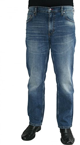 Mustang Jeans Big Sur Stretch auch extra lang 3169.5691.68 stone used, Weite/Länge:33W/38L