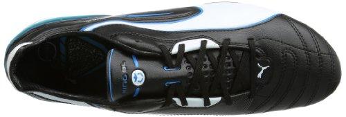 Puma  King SL FG, Chaussures de football homme Noir - Black - Schwarz (black-white-fluo blue 07)