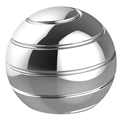 CaLeQi Kinetic Schreibtischspielzeug Office Metal Spinner Ball Gyroskop mit optischer Täuschung für Anti