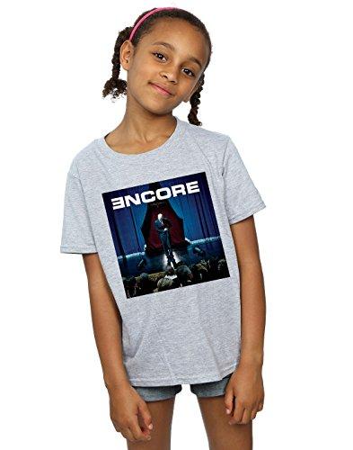 Eminem Mädchen T-shirt Für (Eminem Mädchen Encore Album Cover T-Shirt 12-13 Years Sport Grey)