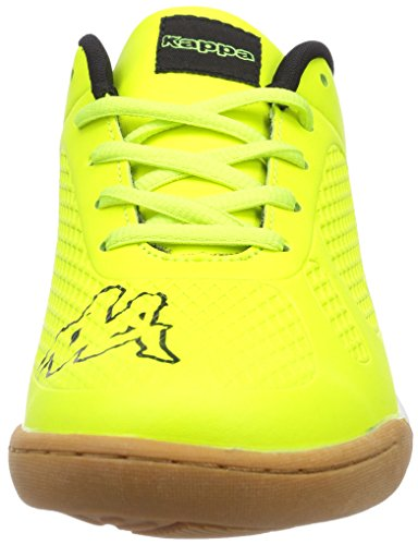 Kappa Vyper T Footwear Teens, Sneakers basses mixte enfant Jaune - Gelb (4011 yellow/black)