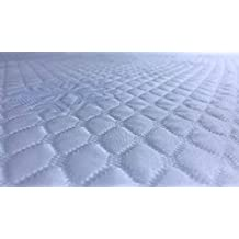 Ferlex Cubre COLCHON Ice Sabana Ajustable Efecto Frio (90 X 180/190 CM)