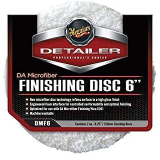 Meguiar's DMC6 6 DA Microfiber Cutting Disc, (2 Stück)-Cutting: