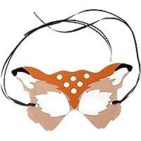 YAANCUN Halloween Máscara Sexy Hembra Divertido Máscara Baile Maquillaje Máscara Fiesta Pelota Prom Mitad Rostro Máscara Zorro