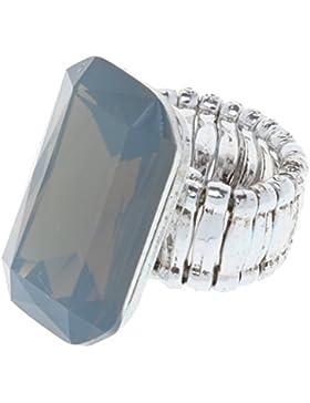 Mode Diamant Smaragd Rubin Saphir Ring Hochzeitsring Fingerring Modeschmuck