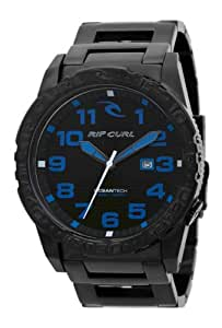 Rip Curl Men's Quartz Watch CORTEZ XL MIDNIGHT SSS A2467 _70 with Metal Strap