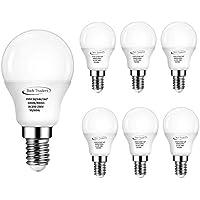 Bombilla LED, de Tech Traders, P45, E14, 5 W, luz blanca cálida