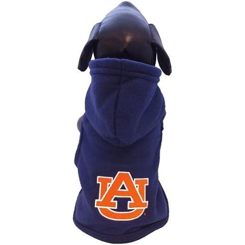 NCAA Auburn Tigers forro Polar con capucha perro chaqueta, XX-small