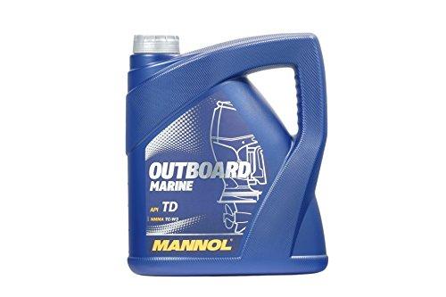 MANNOL Outboard Marine API TD, 4 Liter -