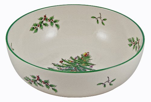 Spode Christmas Tree Individual Fruit Bowl by Spode (Bowl Holiday Fruit)