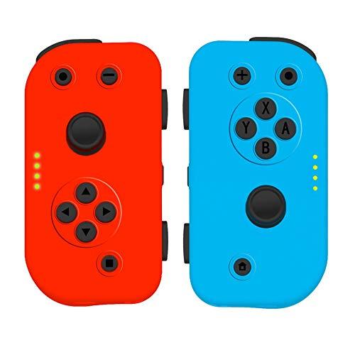 tick für Nintend Switch Joy-Con Controller linker und rechter Handgriff schwarz ()