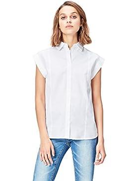 [Patrocinado]FIND Camisa Estructurada Sin Mangas Para Mujer