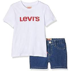 Levi's kids Nn37004 Outfit Conjunto, (Assortiment 99), 12-18 Meses (Talla del Fabricante: 18M) para Bebés