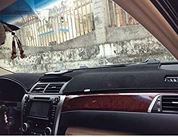 (Zoomy Far: schwarz mit rotem Rand: dashmats Auto-Styling-Zubehör Armaturenbrett-Abdeckung für Toyota Camry XV50 2011 2012 2013 2014 2015 2016 Generation 7)