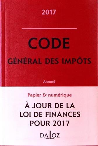Code général des impôts annoté
