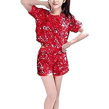 uirend Ropa Danza Mujer Vestidos - Cheerleading Uniformes Trajes Conjuntos Musical Vestido de Lujo Disfraces Jazz