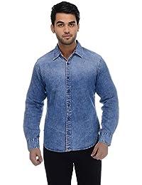 Ben Martin Men's Regular Fit Denim Shirt