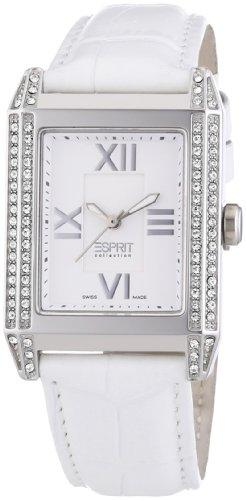 Esprit Xanthe White - Swiss Made - Reloj de cuarzo para mujeres, color blanco