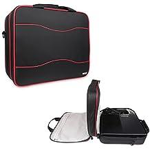 BUBM Bolsa de almacenamiento / Travel Gadget Carry Case para consola de juegos Xbox One y accesorios, de alta capacidad y ligero, se adapta a Xbox One, Xbox 360 Grasa, Xbox 360 Slim-Negro