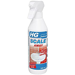 HG Hagesan HG Scale Away Foam Spray 3x Stronger - Removes persistent scale in your bathroom quickly
