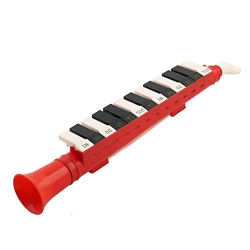 DealMux Kunststoff Horn geformt Teenager 13 Tastatur Hinweis Melodica pädagogisches Spielzeug Tricolor