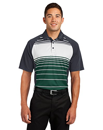 Sport-Tek Dry Zone Sublimated Stripe Polo. ST600 (Stripe Shirt Panel)