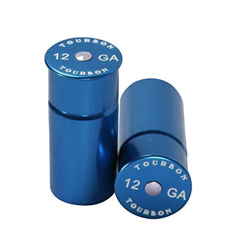 Foto de Tourbon Caza Shotgun TapÓN A PresiÓN Calibre 12 (Pack OF 2 Piezas) (Azul)