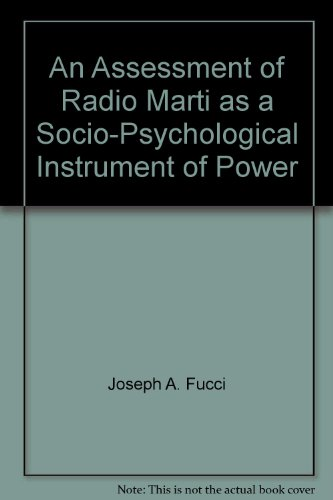 An Assessment of Radio Marti as a Socio-Psychological Instrument of Power