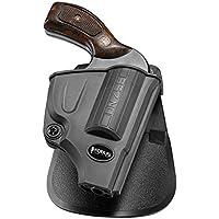 Fobus nuevo birmano pistola Report retención funda Holster para Smith & Wesson Most 5-shot J Frame .357& .38S & W Special + P, funda de revolver Funda polímero)