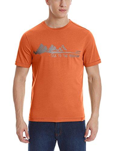 Wildcraft Men's Round Neck Cotton T-shirt