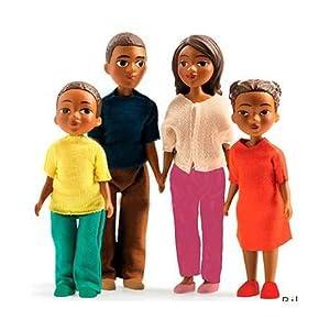 Djeco  - Casa de muñecas la Familia de Milo & Lila