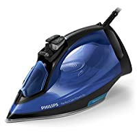 Philips Perfect Care Steam Iron GC3920, 2500W power, Blue with Black, No temperature settings, No-burns guaranteed, 100% safe even on delicate fabrics, optimalTEMP technology, UAE Version