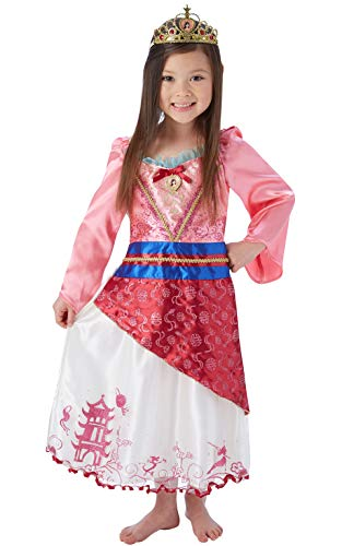 Kinder Mulan Kostüm - Rubie's 620493L Disney Prinzessin Kostüm Mädchen mehrfarbig
