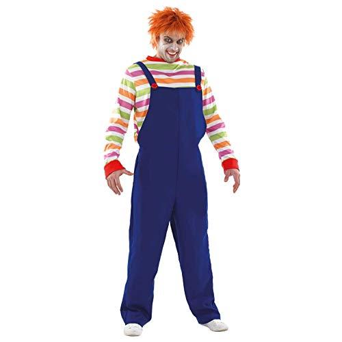Fun Shack Herren Costume Kostüm, Mens Possessed Horror Movie Doll, L