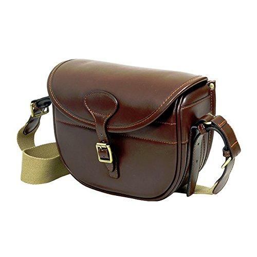 Guardian Heritage Kartusche Bag, 125Kapazität Leder oder Leinwand, Messing Fittings Braun - Guardian Leather