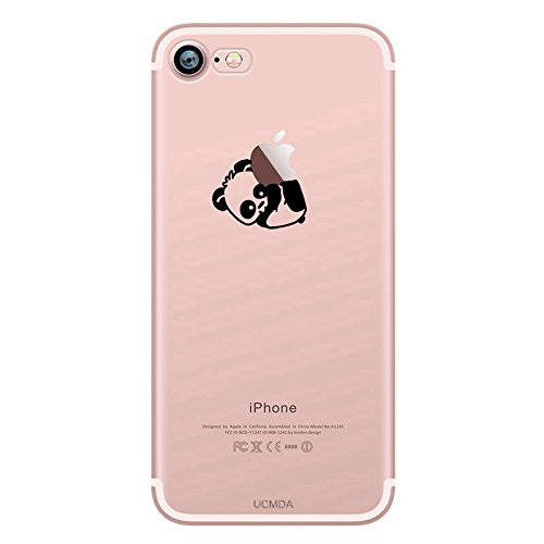 iPhone 7 Case, UCMDA Ultra Thin [Crystal Clear] Silicone Gel TPU ...